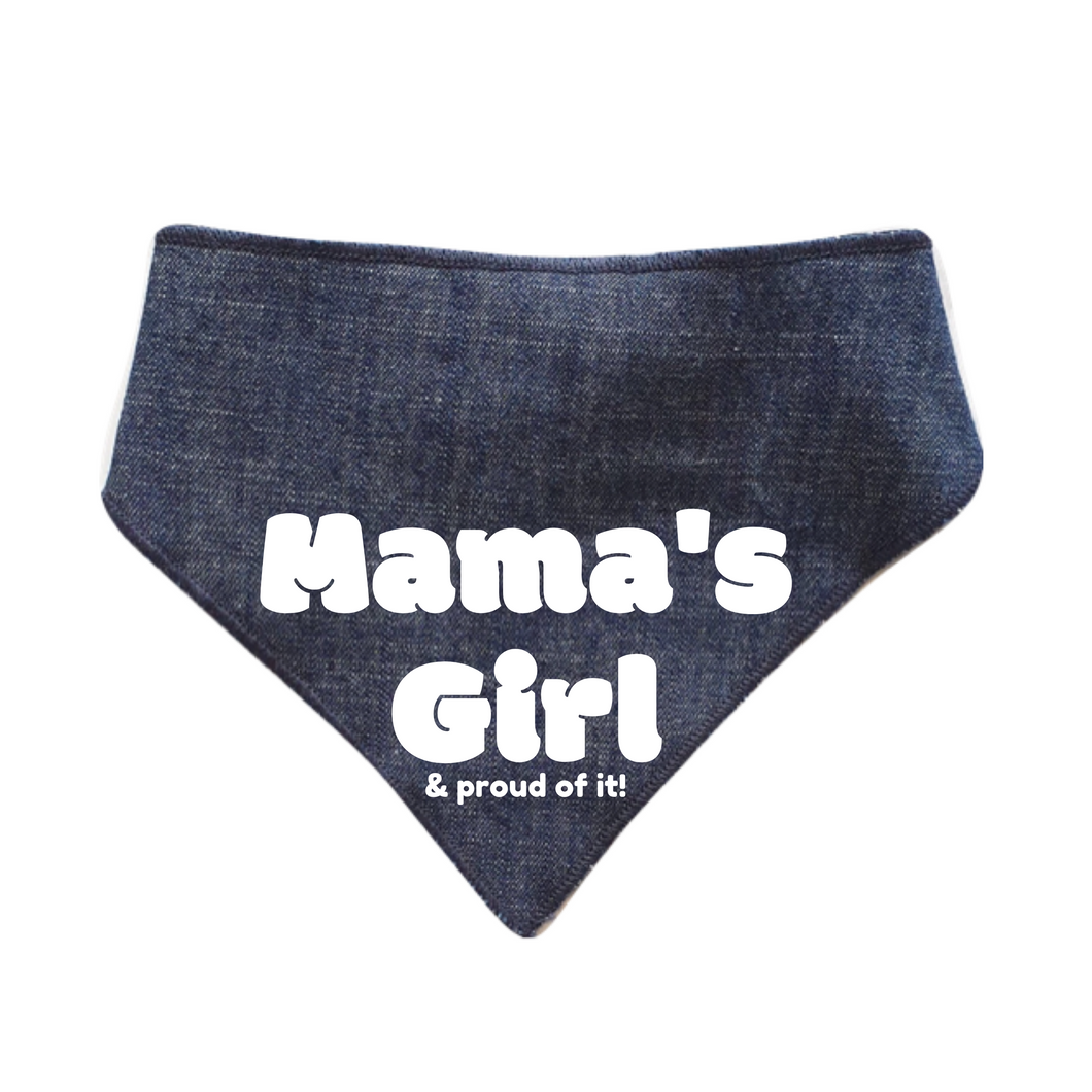 Mama's Girl Bandanas - Denim