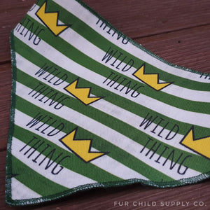Wild Thing Bandanas - Canvas