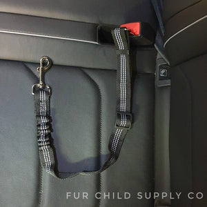 Adjustable car seat belt with harness clip