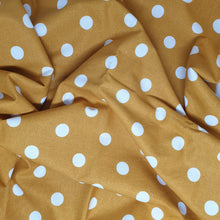 Load image into Gallery viewer, Tuscany Adjustable Collar - Mustard spot