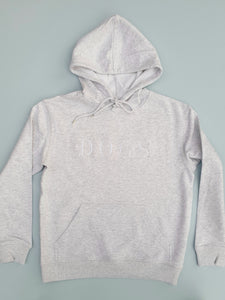 Love Dogs Embroidered hoodie - Grey