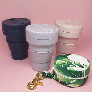 Cup Carrier for Stojo Collapsable Coffee Cup