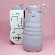 Load image into Gallery viewer, Stojo Collapsable Water Bottle - Lilac