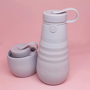 Stojo Collapsable Water Bottle - Lilac