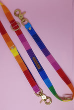 Load image into Gallery viewer, San Francisco Adjustable Dog Leash -  Rainbow