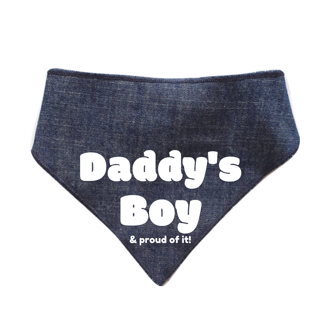 Daddy's Boy Bandanas - Denim