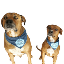 Load image into Gallery viewer, Sibling Bandanas - Denim