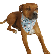 Load image into Gallery viewer, Puppaccino Bandanas - Canvas