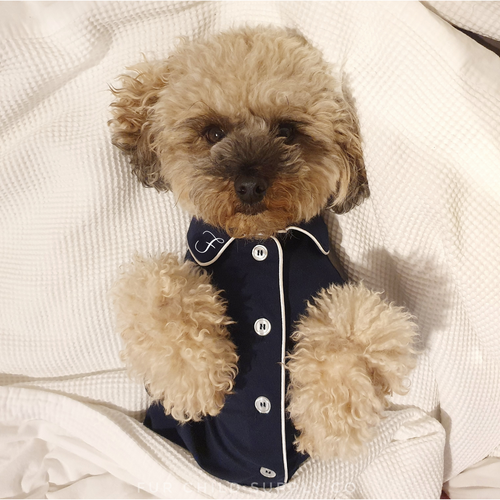 Monogrammed matching Luxe Pajamas - Dogs