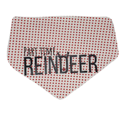 Christmas Part Time Reindeer Bandana - cotton