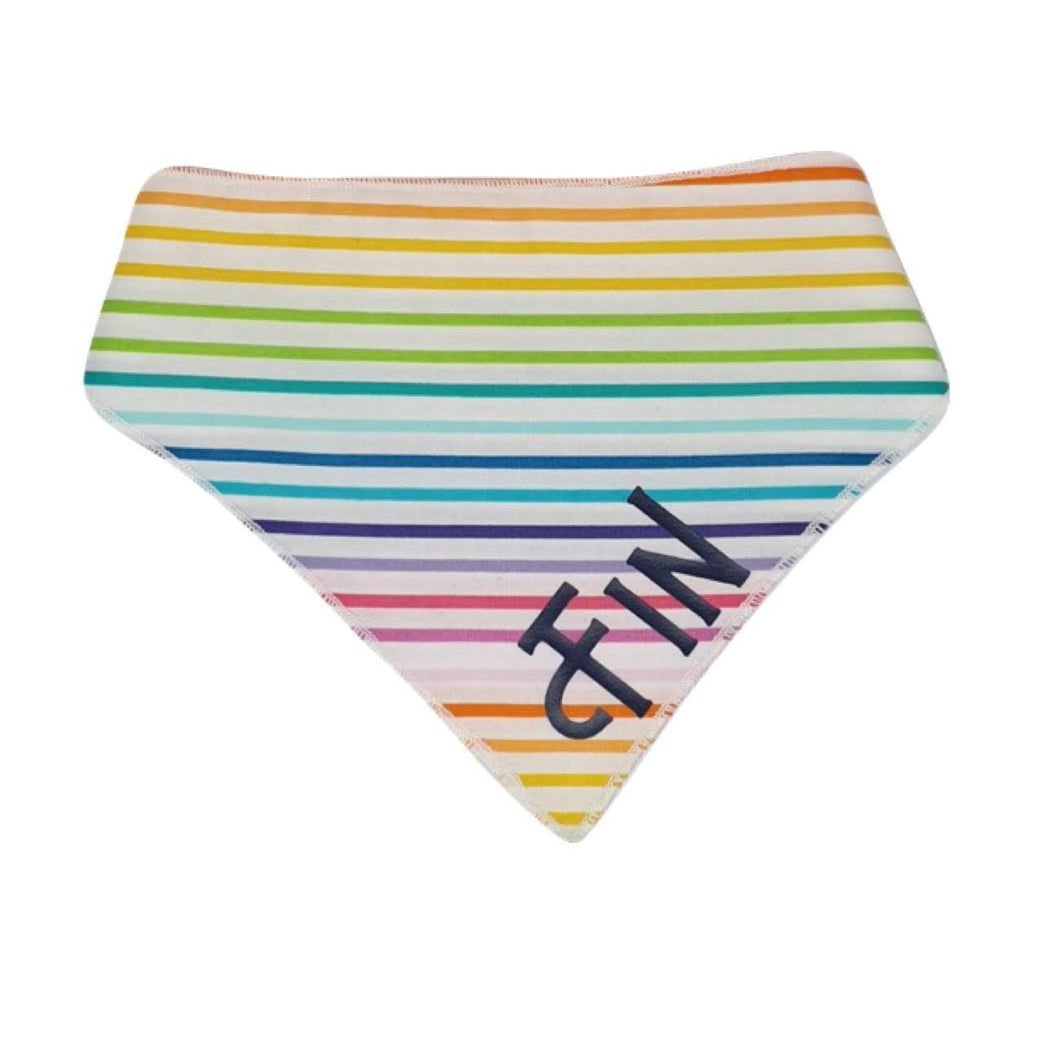 Custom Name Bandanas - Rainbow