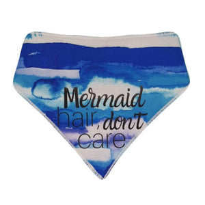 Mermaid Hair, Don't Care Bandana - cotton
