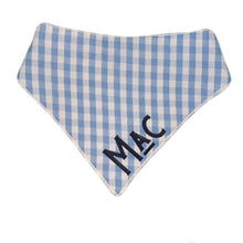 Load image into Gallery viewer, Custom Name Bandanas - Gingham