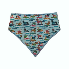 Load image into Gallery viewer, Surf Dogs Bandanas - Canvas