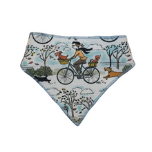 Load image into Gallery viewer, Dogs on Bikes Bandanas - Canvas