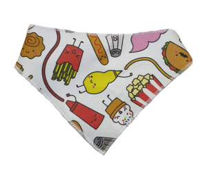 Comfort food Bandanas - Canvas