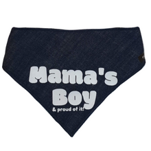 Load image into Gallery viewer, Mama's Boy Bandanas - Denim