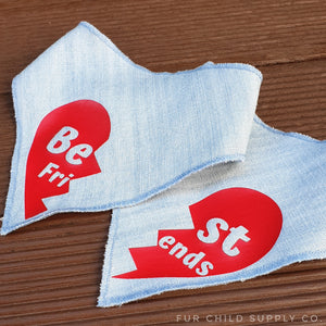 Best Friends Bandanas - Denim