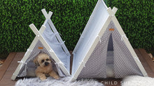 Load image into Gallery viewer, Luxe Dog Tents - Small and Large