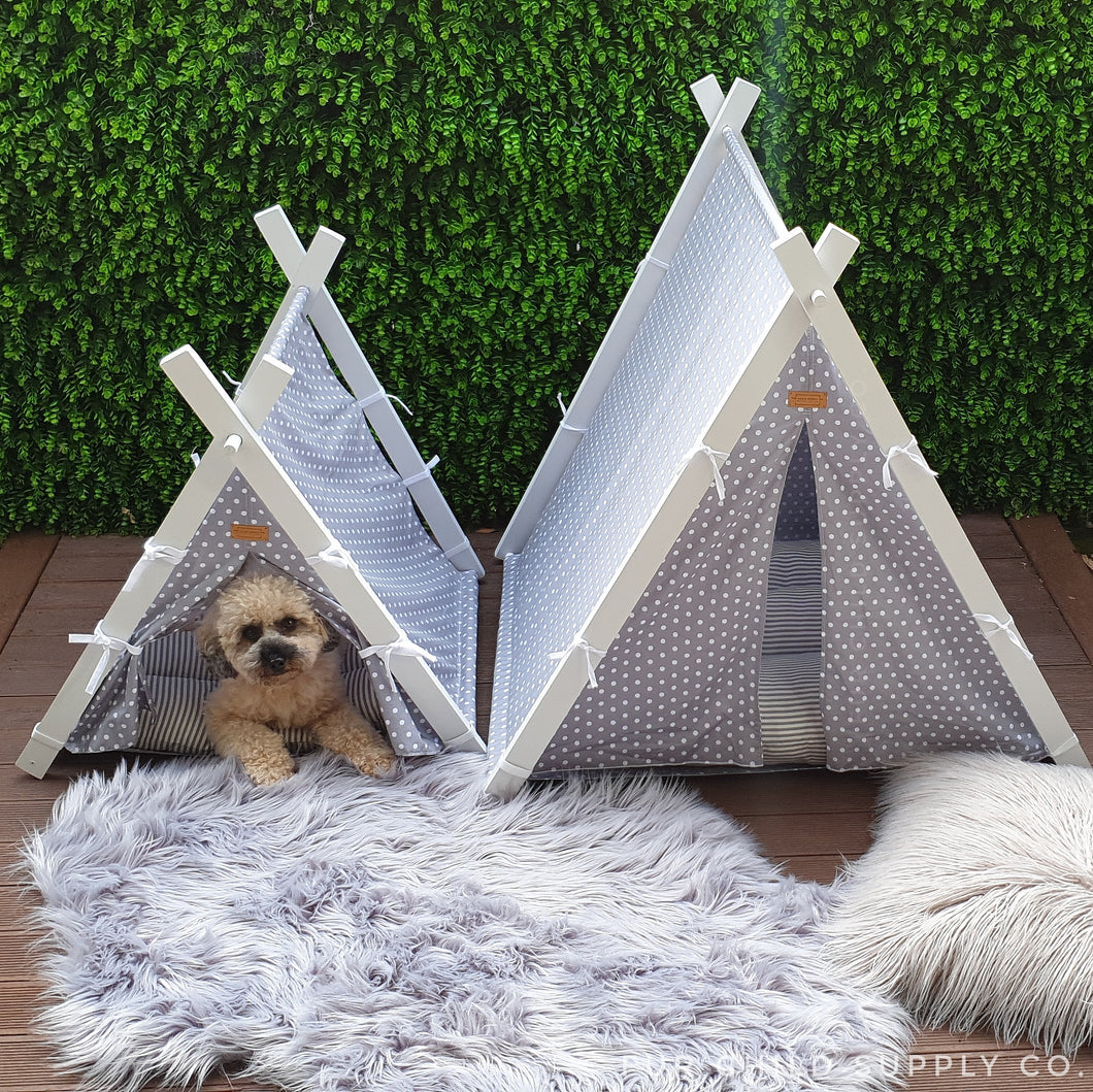 Luxe Dog Tents - Small and Large