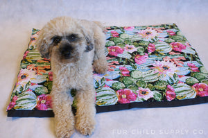 Travel and cafe mats for dogs