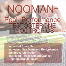 Load image into Gallery viewer, NooMan+ - Testosterone Booster, Performance Enhancer For Extended Mood and Energy Optimization.