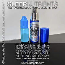 Load image into Gallery viewer, SleepNutrients Sublingual Spray - Deep, Restorative Sleep and Detox (20+ Doses)