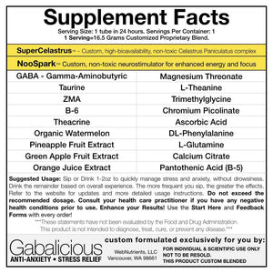 GABAlicious - GABA-Enhancing Drink For Relaxed Energy and Clear Mind.