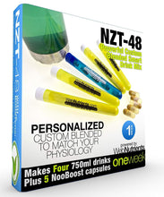 Load image into Gallery viewer, NZT-48 Drink Mix + Capsules Combo - Brain Booster for Focus, Mood and Energy