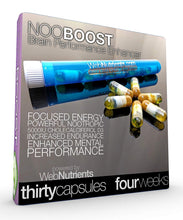 Load image into Gallery viewer, NooBoost - 30 Powerful Nootropic Booster Caps - The Brain and Body Booster for NZT-48
