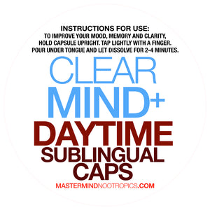 ClearMind+ -  Detox and Cleanse to Improve Mental Clarity, and Neurogenesis.