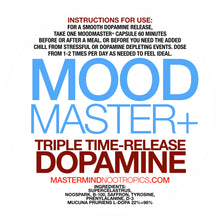 Load image into Gallery viewer, MoodMaster+ - Dopamine Optimization for Improved Mood, Energy, and Hormones.