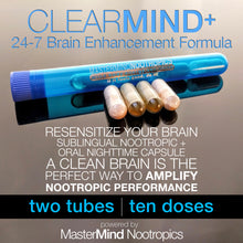 Load image into Gallery viewer, ClearMind+ -  Detox and Cleanse to Improve Mental Clarity, and Neurogenesis.
