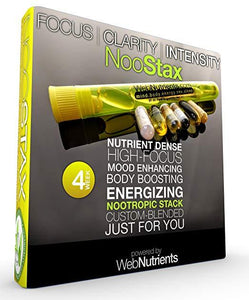 NooStax NZT-48 - Powerful Nootropic Brain-Boosting Capsule Stack