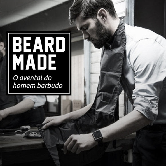 Beard Made - Avental Para Barbear