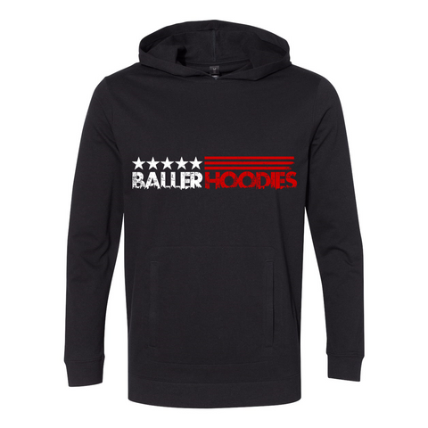 Baller Hoodie French Terry Hooded Pullover