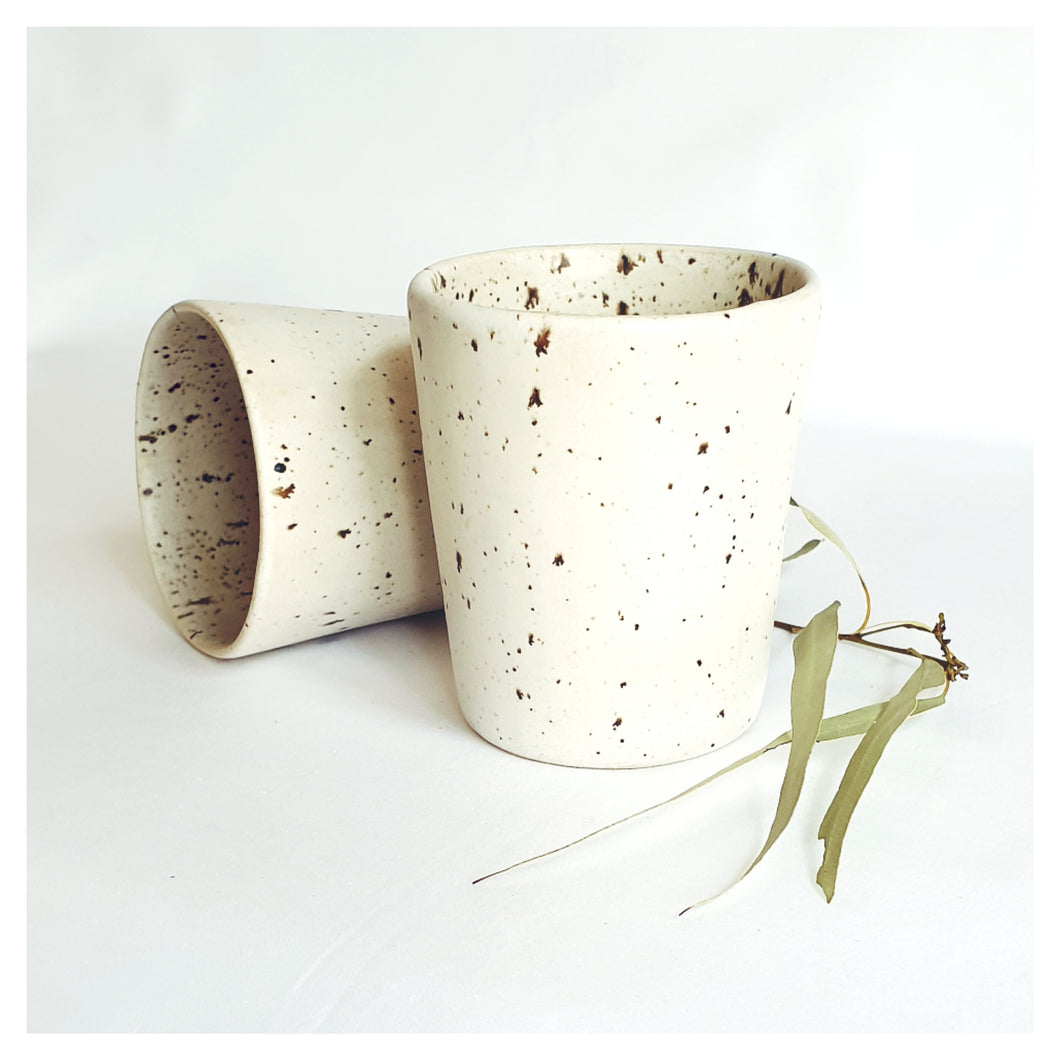 COMFORT & CALM - NORTHERN LAPWING SPECKLED EGG TUMBLER