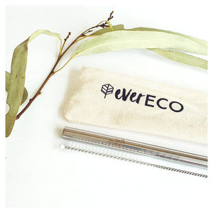 EVER ECO - STAINLESS STEEL REUSABLE STRAW