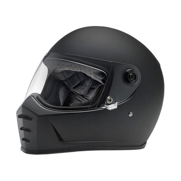 House Of Motorcycles Tasmania | BILTWELL LANE SPLITTER HELMET - FLAT BLACK
