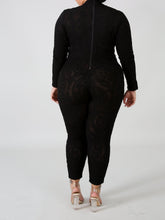 "Load image into Gallery viewer, ""Black on Black"" Jumpsuit"