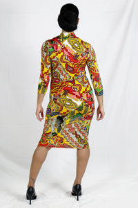 """Kaleidoscope"" Dress"