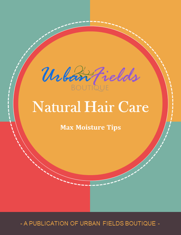 Natural Hair Care: Max Moisture Tips (PDF Version)