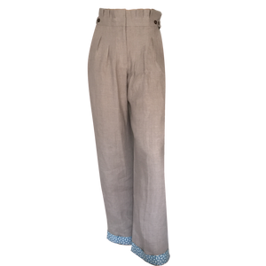 Alice Linen Trousers - Natural