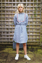 Gillian June Irish Linen Shirt Dress, Fair Trade, Pom Pom