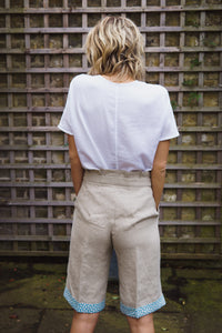 Gillian June Linen Shorts