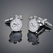 Load image into Gallery viewer, Alarm Clock Cufflinks - Crazy Cuffs
