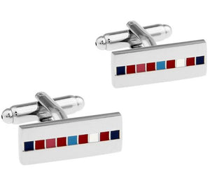 Trendy Colorful Cufflinks - Crazy Cuffs