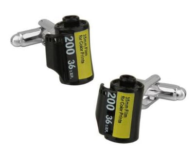 Roll of Film Cufflinks - Crazy Cuffs