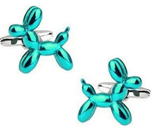 Load image into Gallery viewer, Balloon Dog Cufflinks - Crazy Cuffs
