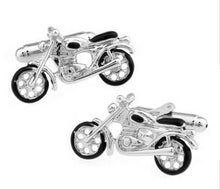 Load image into Gallery viewer, Classic Motor Bike Cufflinks - Crazy Cuffs